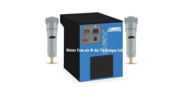 Abac DRY 85 + 2 x Filters 50 cfm Refrigerated Dryer + Free Filter Mounting Support