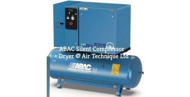 24 cfm ABAC LN2 B6000 500 T7,5 + Dryer *3 Phase 415 Volt DOL Special Order