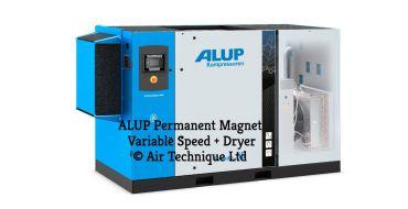 Alup Evoluto 55 + Dryer Permanent Magnet Variable Speed 390 cfm @ 7 bar 55Kw