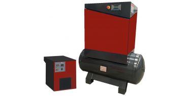 Airwave Eco-Speed 7.5kw 32 cfm @ 10 Bar 300L Tank Mounted + Dryer + Free Options