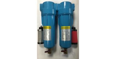 1 bsp Precision Filter Set up to 40 cfm + 2 x Spare Elements