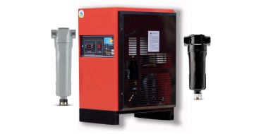 Eco-Dry up to 300 cfm Heavy Industrial Refrigerated Dryer + 2 Filters