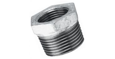 "1-1/4"" bsp Male x 3/4"" bsp Female Tapered Galvanised Bush"