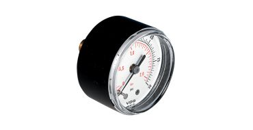 G1/8 Pressure Gauge 40mm Dia. 0-12bar Rear Entry