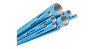 1 x 4mtr Prevost 40mm Aluminimum Pipe