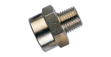 Taper 1/2 Male to 1 Female Bsp Adaptor
