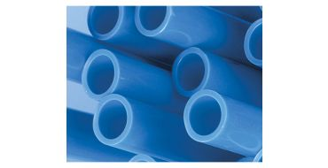 15mm o.d Blue Rigid Pipe 3mtrs