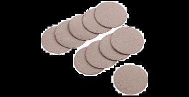 """APA98 50mm (2"""") Sandpaper Discs Grade 240 (10 per Pack)"""