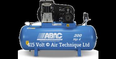 18cfm Abac PRO B4900 200L FT4 *3 Phase 415 volt