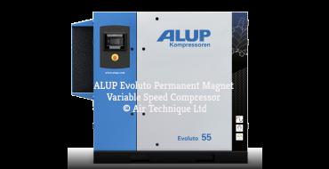 Alup Evoluto 45 Permanent Magnet Variable Speed 322 cfm @ 7 bar 45Kw