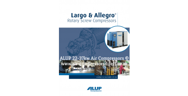 ALUP LARGO Air Compressor 22 - 37kw Enquire for Price