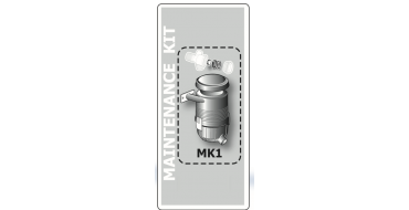 B6000 (silent) Performance Kit Intake Filter c/w Filter Element + NRV Pastel