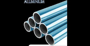 22mm o.d Aluminium Pipe 3mtrs