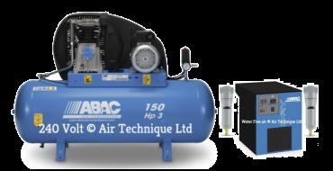14 cfm Abac PRO A39B 150L FM3 Dryer Package