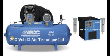 14 cfm Abac PRO A39B 200L FM3 Dryer Package