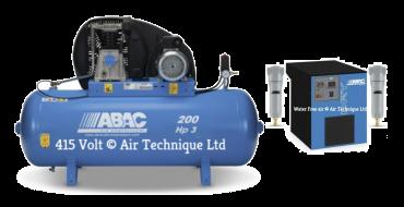 14 cfm Abac PRO A39B 200L FT3 Dryer Package