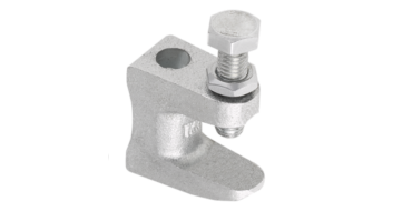 1 x Prevost Screw Beam Clamp M8mm Hole for studding 1-18mm Beam Thickness