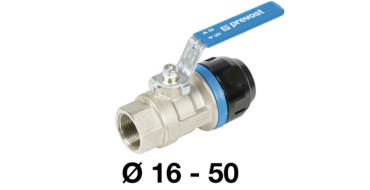 Prevost 50mm x 1-1/2 bsp Parallel female Valve for Pipe