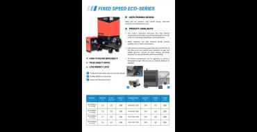 Long Term Hire Airwave Eco-Speed 5.5-7.5kw 10 Bar Tank - Dryer