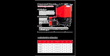 Long Term Hire Airwave Vari-Speed 11kw 10 Bar Tank - Dryer