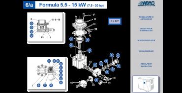 Intake Valve Kit 5.5-11kw Genesis-Formula BA51 Spinn 11kw BA51