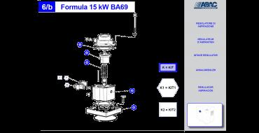 Intake Valve Kit 15kw Genesis-Formula 2008
