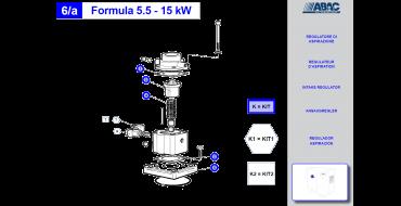 Intake Valve Kit 5.5-11kw Genesis-Formula 2008