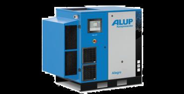 Alup Allegro 15 Variable Speed 105 cfm @ 7 bar 15kw Floor Mounted