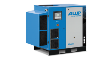 Alup Allegro 25 Variable Speed 150 cfm @ 7 bar 26kw Floor Mounted