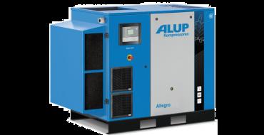 Alup Allegro 15 Variable Speed 105 cfm @ 7 bar 15kw Floor Mounted + Dryer