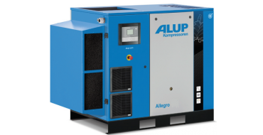 Alup Allegro 25 Variable Speed 150 cfm @ 7 bar 26kw Floor Mounted + Dryer