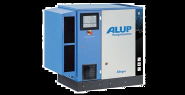 Alup Allegro 8 Variable Speed 44.1 cfm @ 7 bar 7.5kw Floor Mounted