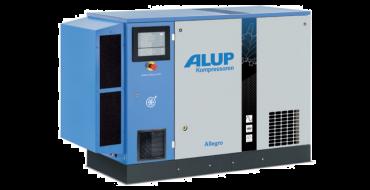 Alup Allegro 11 Variable Speed 66.2 cfm @ 7 bar 11kw Floor Mounted + Dryer