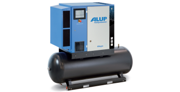 Alup Allegro 8 Variable Speed 44.1 cfm @ 7 bar 7.5kw Tank Mounted