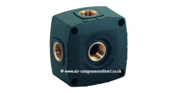 Airnet Socket Box 3 x 1/2