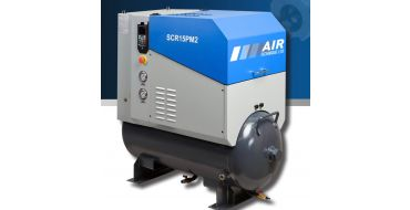 SCR 20PM2 8 bar 85 cfm Permanent Magnet variable Speed 15kw Rotary screw Air Compressor