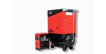 Airwave Vari-Speed Permanent Magnet 7.5kw 32 cfm @ 10 Bar 300L Tank Mounted + Dryer + Free Options