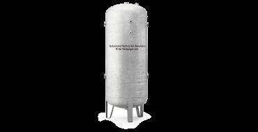 "2000 ltr vertical galvanized air receiver 2"" bsp Port Outlets"