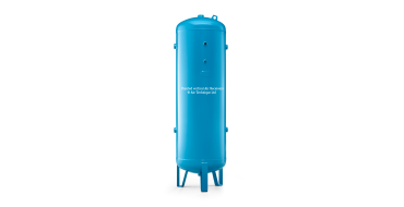 "200 ltr vertical air receiver 1"" bsp Port Outlets"