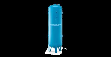 "4000 ltr vertical air receiver 3"" bsp Port Outlets"