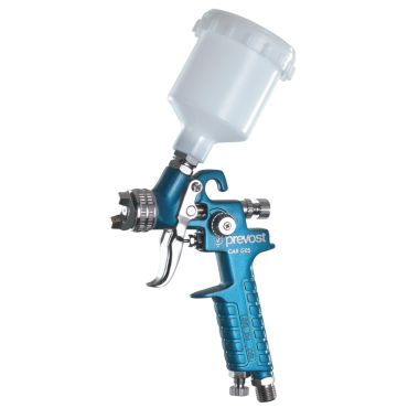 Prevost Paint spray gun for auto finishing, refinishing and detail work 0.8mm Nozzle