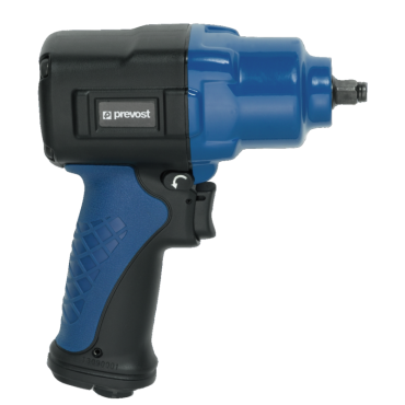 Prevost 3/8 Drive Composite Air Impact Wrench - Reinforced Twin Hammer