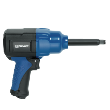 Prevost 3/4 Extended Drive Composite Air Impact Wrench - Reinforced Twin Hammer