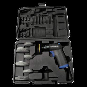 Prevost 75mm Dia Pistol Orbital Sander 3mm Offset in Case
