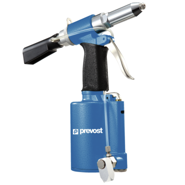 Prevost Hydro-Pneumatic riveter with Suction System 2.4 - 4.8mm