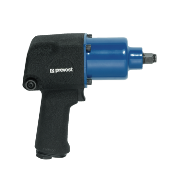 Prevost 1/2 Drive Aluminium Air Impact Wrench - Twin Hammer
