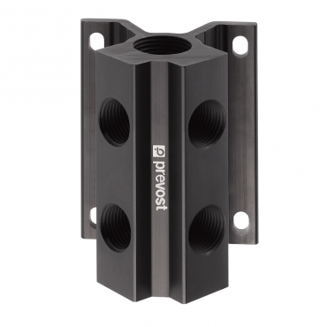 Prevost 3/4 x 2 - 1/2 x 4 Female Wall Bracket