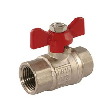 "T-Handle Ball Valve G1"" Female/Female"