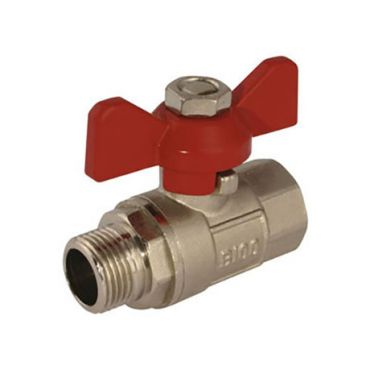 T-Handle Ball Valve G1/2 Male/Female