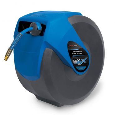 Jamec Pem Pro X Series Extreme 30mtrs Air Hose Reel 1/4bsp swivel